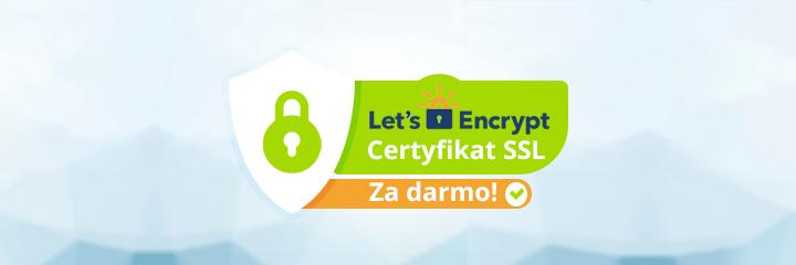 Lets Encrypt certyfikat SSL za darmo