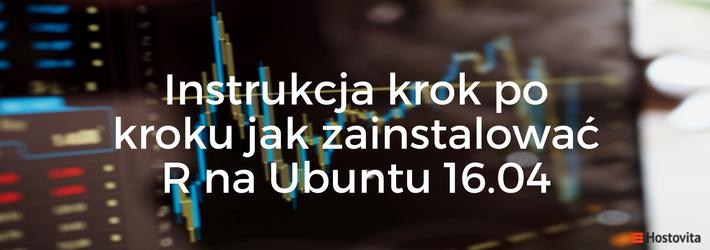 Instalacja R na Ubuntu 16.04