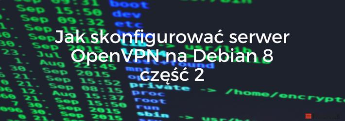 Blog - OpenVPN Debian 8