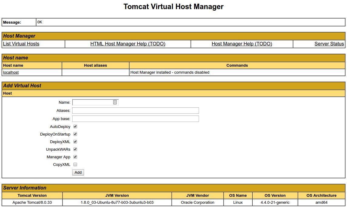 Tomcat_hostmanager