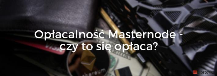 oplacalnosc masternode
