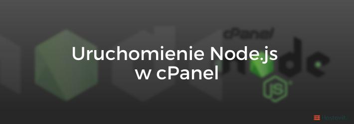 Instalacja nodejs w cPanel