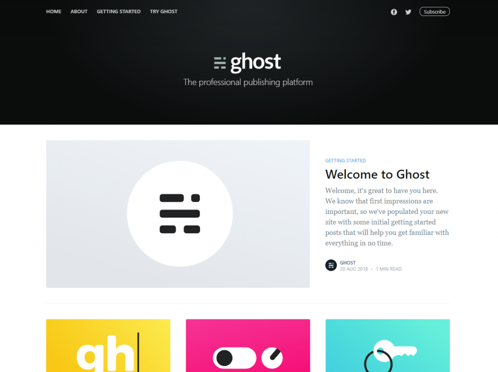 Ghost demo