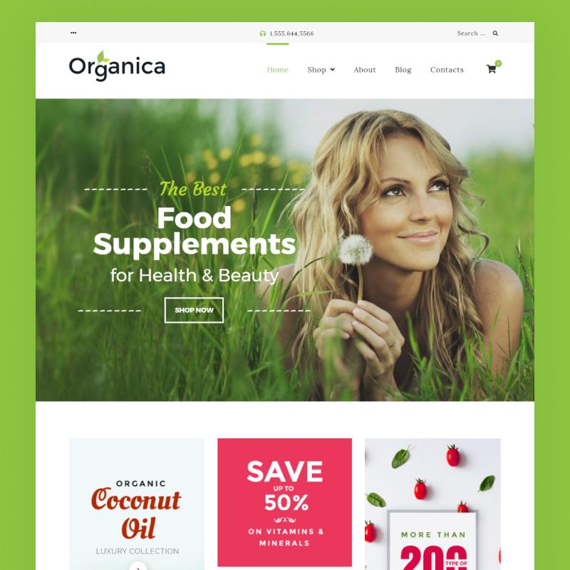 organiczny bio sklep woocommerce