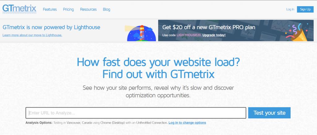 GTmetrix _ Website Speed and Performance Optimizat