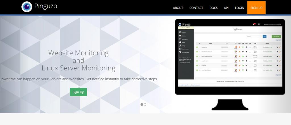 Pinguzo - Server and Website Monitoring - Google C
