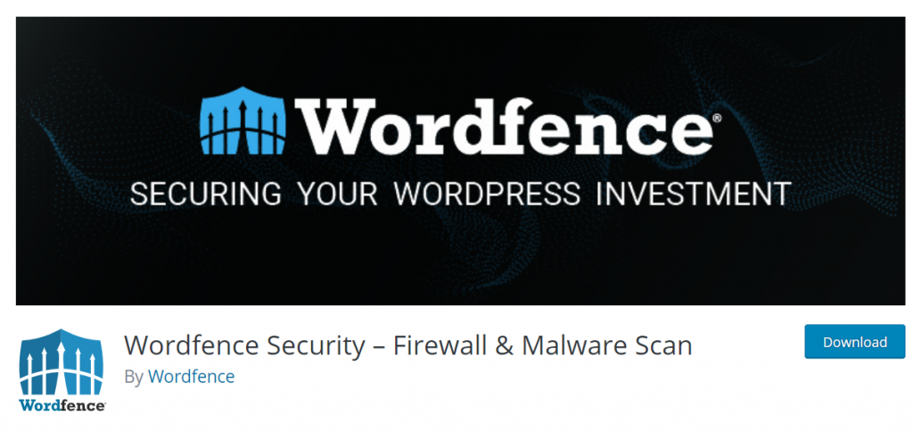 Wordfence Security – Firewall & Malware Scan – Wor